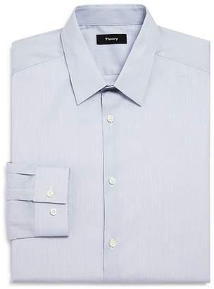 Theory Micro Grid Slim Fit Dress Shirt