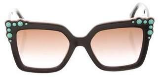 Fendi Oversize Square Sunglasses w/ Tags