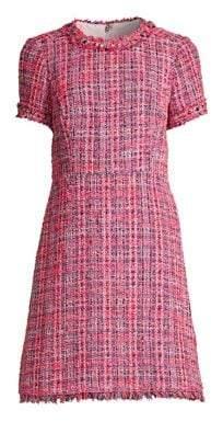 Kate Spade Multi Tweed Fit & Flare Dress