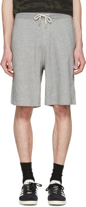 Rag & Bone Grey Standard Issue Sweat Shorts $150 thestylecure.com