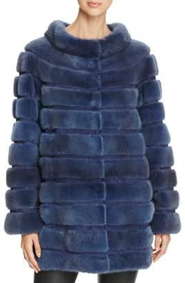 Maximilian Furs x Carmen Marc Valvo Mink Fur Coat - 100% Exclusive