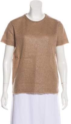 Prada Mohair Short Sleeve Top w/ Tags