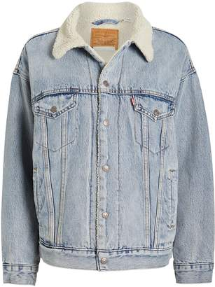 Levi's Trucker Sherpa Denim Jacket