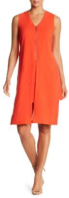 Papillon Zip Front Layer Dress