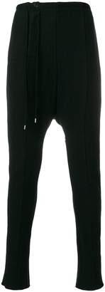 The Viridi-anne drop-crotch panel trousers