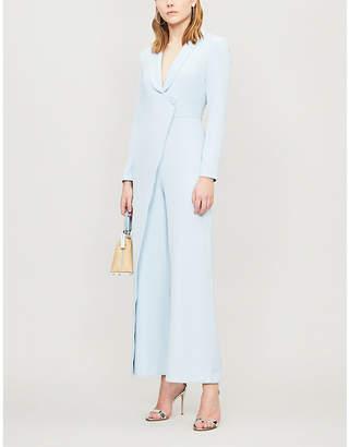 Lavish Alice Tailored wrap crepe jumpsuit