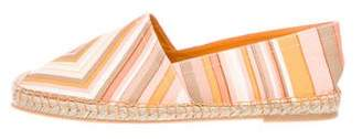 Valentino Native Couture 1975 Round-Toe Espadrilles