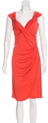 Temperley London Silk Jersey Knee-Length Dress