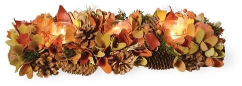The Holiday Aisle Autumn Splendor Pumpkin Tri Tlight Figurine
