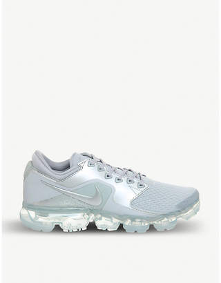 Nike Vapormax mesh and metallic trainers