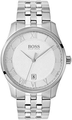 HUGO BOSS 1513589 Master Watch Silver