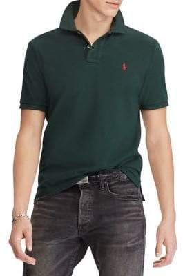 Polo Ralph Lauren Custom Slim-Fit Cotton Mesh Polo