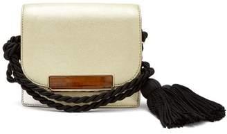 Hillier Bartley - Tassel Embellished Mini Satchel Bag - Womens - Gold
