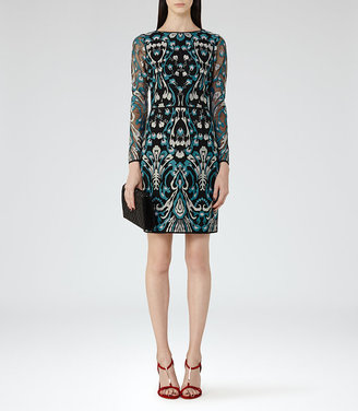 Alianna Embroidered Dress $465 thestylecure.com