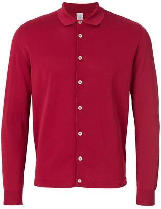 Eleventy cardigan-style shirt