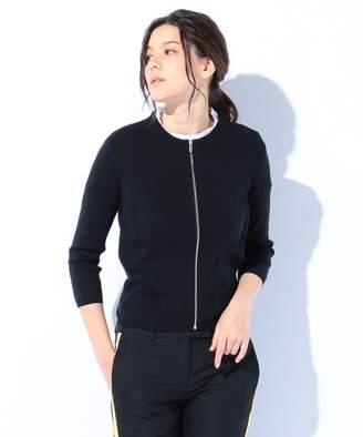 Calvin Klein (カルバン クライン) - CK CALVIN KLEIN WOMEN 【春のおすすめニット】コットンシルクバッグプレーティング カーディガン(C)FDB