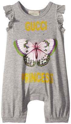Gucci Kids Sleepsuit 504231X3L75 Girl's Jumpsuit & Rompers One Piece