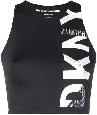 DKNY cropped logo top