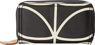 Orla Kiely Etc Giant Linear Stem Big Zip Wallet Wallet