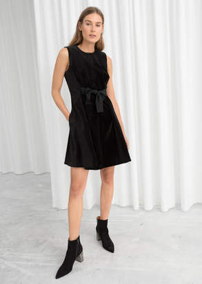 And other stories A-line Cotton Dress