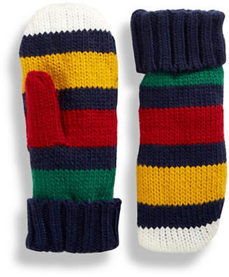 HBC HUDSON'S BAY COMPANY 'The Stripes' Mittens - Multi Stripe