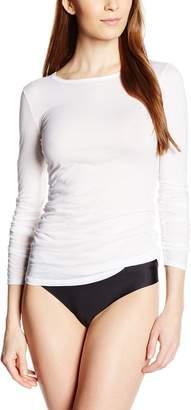 Hanro Women's Ultralight Long Sleeve Top T-Shirt XS