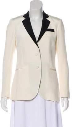 Haute Hippie Silk Button-Up Blazer