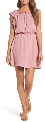 Women's Bb Dakota Adrienn Fit & Flare Dress $90 thestylecure.com