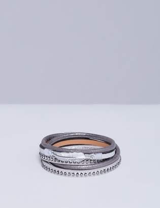Lane Bryant Wrap Bracelet with Feather Detail