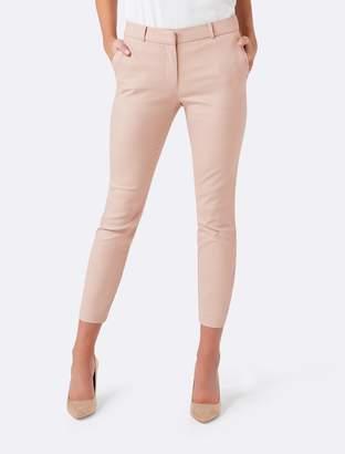 Forever New Mindy Petite 7/8 Slim Pants - Rose Smoke - 14