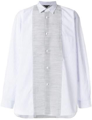 Comme des Garcons panelled loose-fit shirt