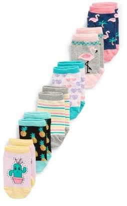 Tucker + Tate 6-Pack Flamingo Low Cut Socks