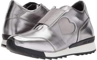 Love Moschino Platform Sneaker with Heart Detail Women's Shoes