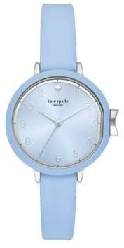 Kate Spade Park Row Silvertone Strap Watch