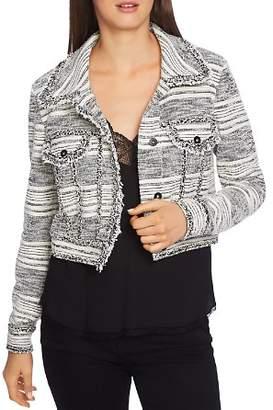 1 STATE 1.STATE Cropped Tweed Jacket