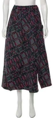 Julien David Tweed Plaid Skirt w/ Tags