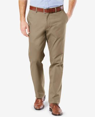 Dockers New Signature Lux Cotton Straight Fit Stretch Khaki Pants