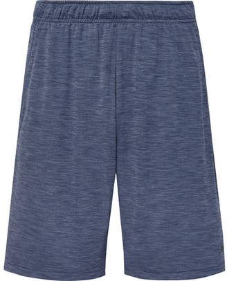 Nike Training - Melange Dri-FIT Shorts - Blue
