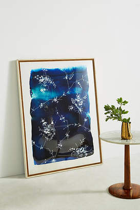 Artfully Walls Blue And White Floral Wall Art