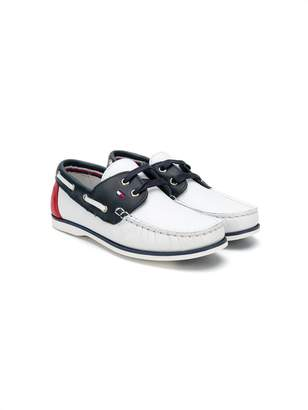 Tommy Hilfiger (トミー ヒルフィガー) - Tommy Hilfiger Junior デッキシューズ