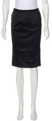 Nina Ricci Satin Pencil Skirt w/ Tags