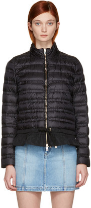 Moncler Black Down Anemone Jacket $975 thestylecure.com