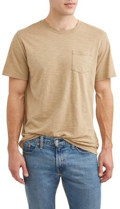 George Men's Washed Solid T-Shirt