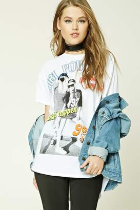 Forever 21 Girl Power Graphic Tee