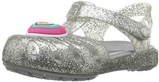 Crocs Girls' Isabella Novelty Flat Sandal
