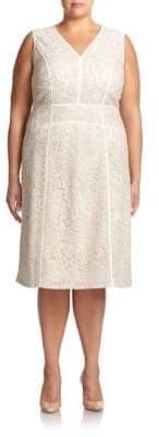 Lafayette 148 New York Essie Lace Sheath Dress
