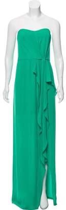 Halston Strapless Evening Dress w/ Tags