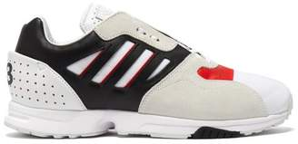 Y-3 Y 3 Zx Run Leather, Suede And Mesh Trainers - Mens - Multi