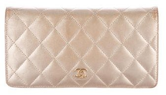 Chanel Quilted Lambskin Wallet