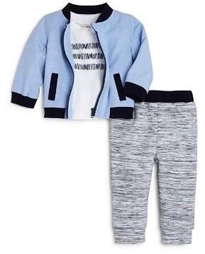 Miniclasix Boys' Baseball Jacket, Tee & Jogger Pants Set - Baby